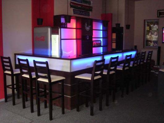 square bar. Black Bedroom Furniture Sets. Home Design Ideas